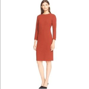 VINCE. | Red Office dress